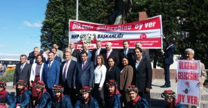 MHP İzmir milletvekili adayları seçim çalışmalarına başladı