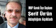 MHP, Kavak Adayını Açıkladı