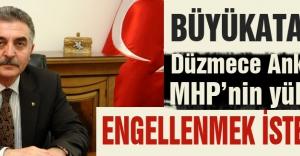 MHP'li Büyükatam'dan 'Düzmece Anket' Çıkışı