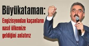 MHP'li Büyükataman: Türk'e kefen biçenlerin
