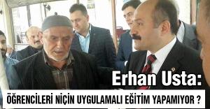 MHP'li Erhan Usta'dan Türk Eğitim-Sen'e Ziyaret