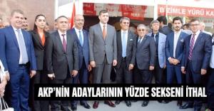 MHP'li Ersoy: AKP'nin adayları ithal...