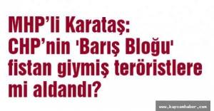 MHP'li Karataş'tan Ses Bombasıyla ilgili açıklama