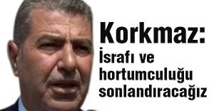 MHP'li Korkmaz: Devletin parasını hortumlayanların hortumlarını keseceğiz