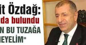 MHP'li Özdağ'dan Terk Merkezli Başarılı Operasyon Algısı