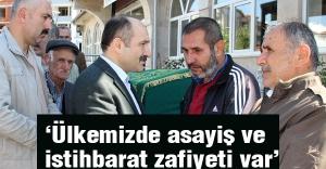 MHP'li Usta; Ülkemizde asayiş ve istihbarat zafiyeti var
