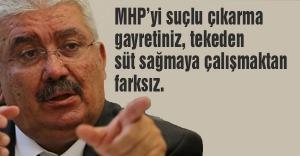MHP'li Yalçın; Uçuk kaçık ve dengesiz yazılarınızı takip ediyoruz...
