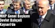 MHP Lideri Kayseri'de konuştu