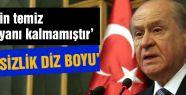 MHP Lideri Sert Açıklamalarda Bulundu