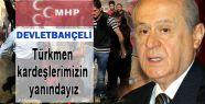 MHP Lideri Tuzhurmatu saldırısını Kınadı