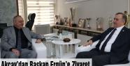 MHP Milletvekili Akçay, Manisa Büyükşehiri ziyaret etti