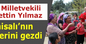 MHP Milletvekili Yılmaz, Karaisalı'nın köylerini gezdi