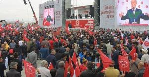 MHP'nin 'Büyük İstanbul Buluşması' mutlu son