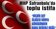 MHP Safranbolu İlçe yönetimi istifa etti