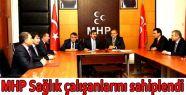 MHP Sağlık çalışanlarını sahiplendi