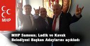 MHP Samsun Adaylarını Açıkladı