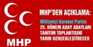 MHP, Yarın Samsun Milletvekili Aday Adaylarını Tanıtacak