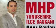 MHP Yunusemre İlçe Başkanlığından Önemli Duyuru