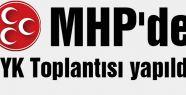 MHP'de  MYK Toplantısı...