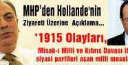 MHP'den Hollande ziyareti...