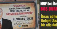 MHP'den İhraç edilen Saatçı'dan Başbuğ'lu Afiş