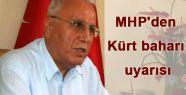 MHP'den Kürt Baharına Uyarı