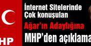 MHP'den Mehmet Ağar Açıklaması