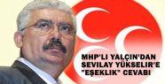 MHP'den Sevilay Yükselir'e sert cevap
