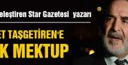 MHP'DEN TAŞGETİREN'E AÇIK MEKTUP