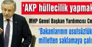 MHP'li Adan'ın Fezleke görüşülmesinde 'Meclis TV' tepkisi