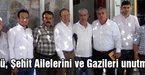 MHP'li Çöllü, Şehit Ailelerini ve Gazileri unutmadı
