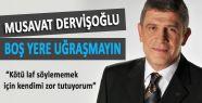 """MHP'li Dervişoğlu; """"Üç Hilal MHP'nin namusudur!"""