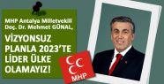 MHP'li GÜNAL, Ekonomideki Kötü Gidişi Gizlemeye Çalışıyor!