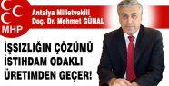 MHP'li İşsizlik Kentlere Göçü Artırıyor!