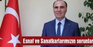 MHP'li Keskin 'Esnaf ve Sanatkârımız Hazan Mevsimi Yaşamaktadır'