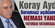 MHP'li Koray Aydın'dan Önemli Açıklama