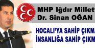 MHP'li Oğan: Bu İşler dombra Çalmakla Olmuyor!