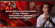 MHP'li Oğan'dan Türk Dil Bayramı Kutlaması...