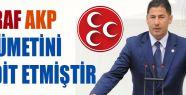 MHP'li Oğan:'Zarraf AKP Hükümetini Tehtit Etmiştir'