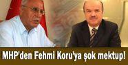 MHP'li Şandır'dan Fehmi Koruya Mektup