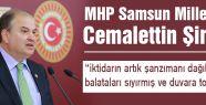 """MHP'li Şimşek: """"Bu İktidarın Şanzımanı Daığılmıştır"""""""