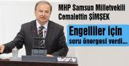 MHP'li ŞİMŞEK'ten Engelliler için Soru Önergeleri