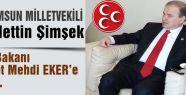 MHP'li Şimşek'ten soru önergesi