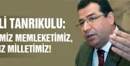 """MHP'Lİ TANRIKULU """"DERDİMİZ MEMLEKETİMİZ, TASAMIZ MİLLETİMİZ!"""