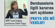 MHP'li Topçu; PKK'ya sözmü verildi?