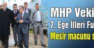 MHP'li Vekillerden Fuar Gezisi