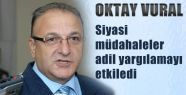 MHP'li Vural, Baskılar Adil Yargılamaları Etkiliyor