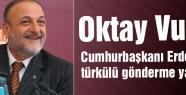 MHP'li Vural'dan Erdoğan'a Türkülü Gönderme