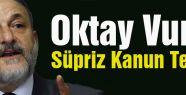 MHP'li Vural'dan Süpriz Kanun Teklifi