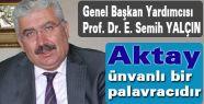 """MHP'li Yalçın: """"Aktay ünvanlı bir palavracıdır"""""""